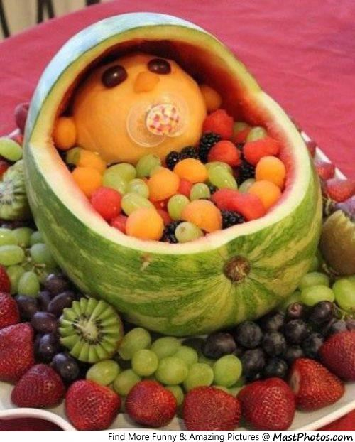 Creative Watermelon Child