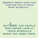Give Respect And Love To The People