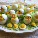 Creative Egg Food Art