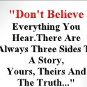 Done Believe Everything You Hear