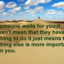 If Someone Wait For You