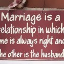 Marriage Is A Relationship