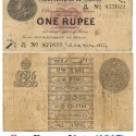 One Rupee Note In 1917