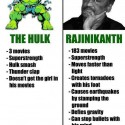 The Hulk Vs Rajinikanth