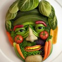 Vegetable Face By Alex J. Jefferies