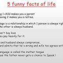 5 Funny Facts Of Life
