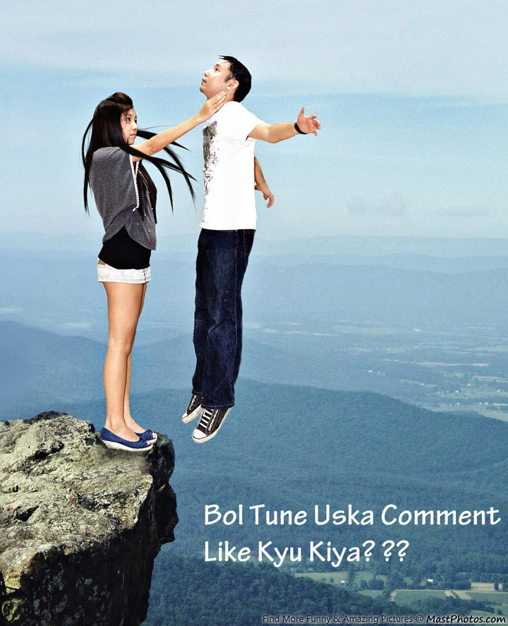 Bol Tune Uska Comment Like Kyu Kiya?