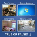 Boys Vs Girls Room