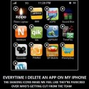 Everytime I Delete An App On My Iphone