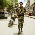 First Look Of Shahrukh Khan On  Yash Chopra's Sets In Ladakh