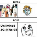 Happiness, Boy Vs Girls