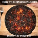 How To Burn 800 Calerois In Few Minutes