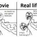 Movies Vs Real Life While Saving Someone