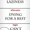 True, My Life From Morning To Night