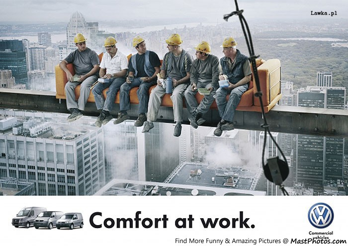 Volkswagen &#8211; Comfort At Work