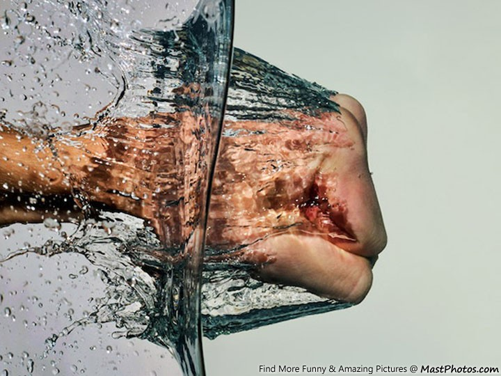 Awesome Pic Of Water Punch