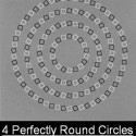Believe Me These Are Four Perfect Rounded Circles