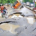 Indian Roads In Rainy Season