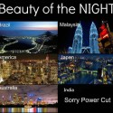 Beauty Of The Nigh In Different Countries