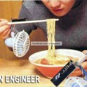 Engineer Jugaad To Cool Down The Noodles