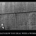 That Is How You Deal With A Woman