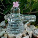 A Shivling Made Of Glass