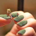 Awesome Micro Art On Nails