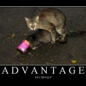 Advantage – He Is Taking It
