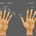 Fingers Of A Normal Person Vs Gamer