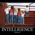 Intelligence Beats Size