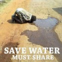 Save Water – Friends Must Share This