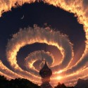 Cloud Spiral In The Sky