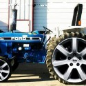 Ford Tractor With Allow Wheels