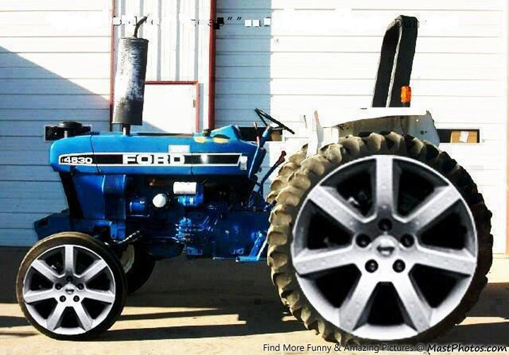Ford Tractor Wallpaper Ford Tractor With Allow Wheels