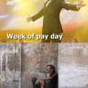Week Of Pay Day VS Rest Of The Month