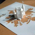 Amazing Paper-Castle Artwork