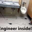 Engineer Inside.. Charging Outside