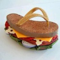 Sandwich Flip Flops