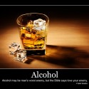 Alcohol Quote – Man's Worst Enemy