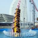 Underwater Roller Coaster in Yokohama, Japan