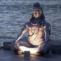 The Beautiful Statue Of Shiva At Rishikesh, Uttarkhand
