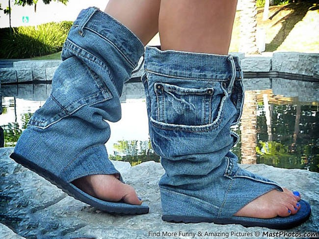 Denim Boots – Who Wants One?