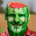 Watermelon Art Look Like A Real Man