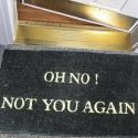 Funny Door Mat For Visitors