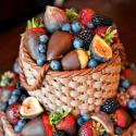 A Fruit Bucket Or A Cake