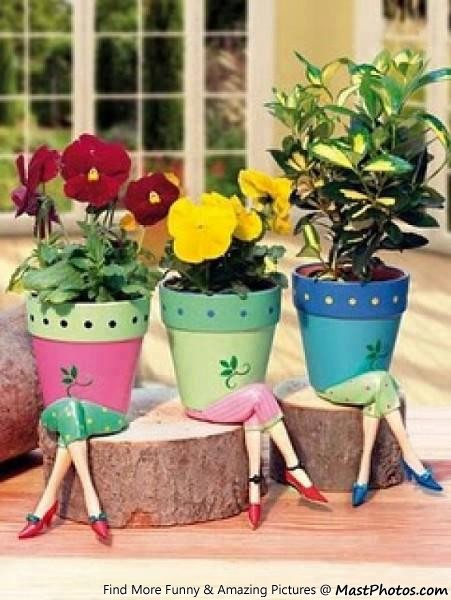 Creative Design Of Flower Pot