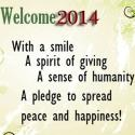 Lets Welcome This 2014 With A Smile