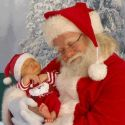 Old Santa And Little Santa – Cute Couple