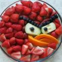 Angry Bird In The Bowl
