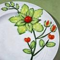 Cucumber Art – Beautiful Flower Made By A Cucumber